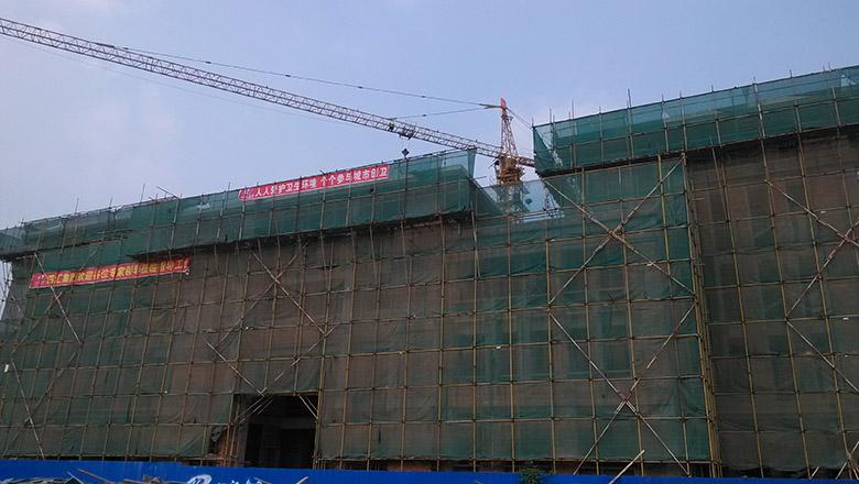 训楼工程通过主体结构验收